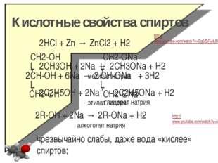 Этерификация - (спирт + кислота) CH2-OH CH2-O-NO2 │ │ CH-OH + 3HO-NO2 → CH-O-