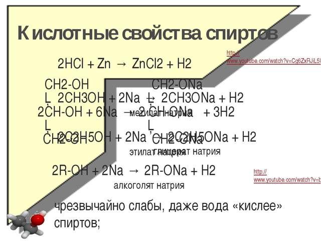 Этерификация - (спирт + кислота) CH2-OH CH2-O-NO2 │ │ CH-OH + 3HO-NO2 → CH-O-...