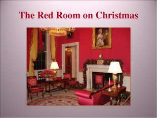 The Red Room on Christmas