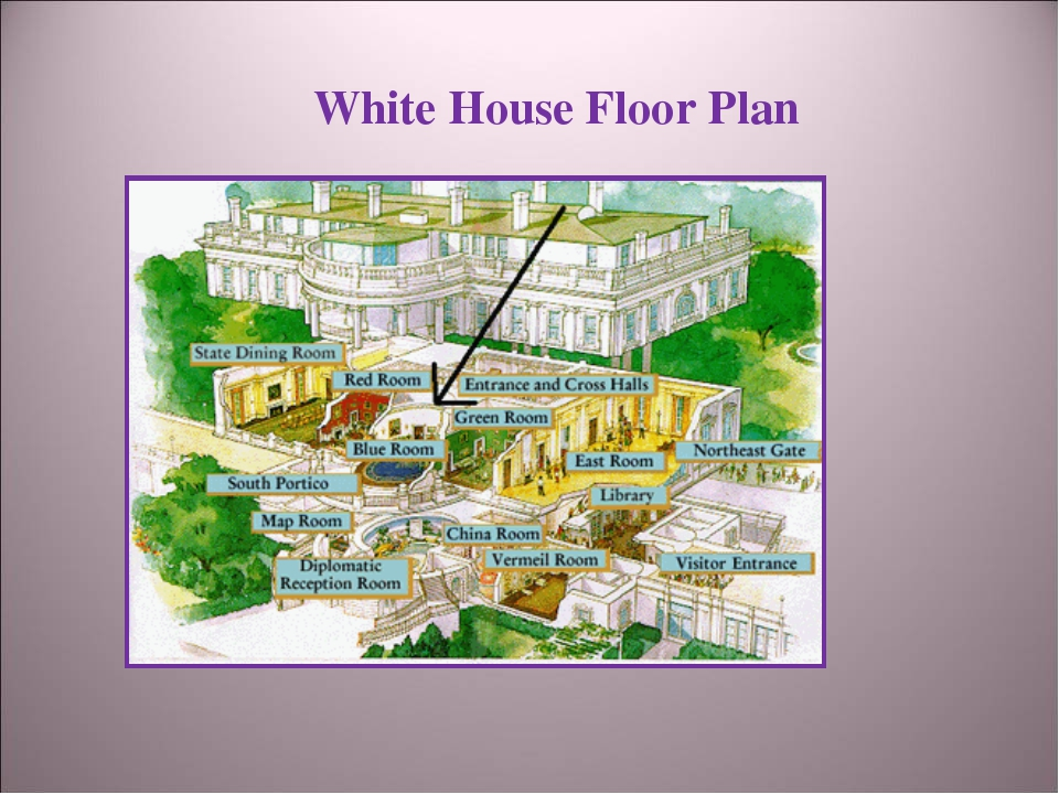 White House Floor Plan