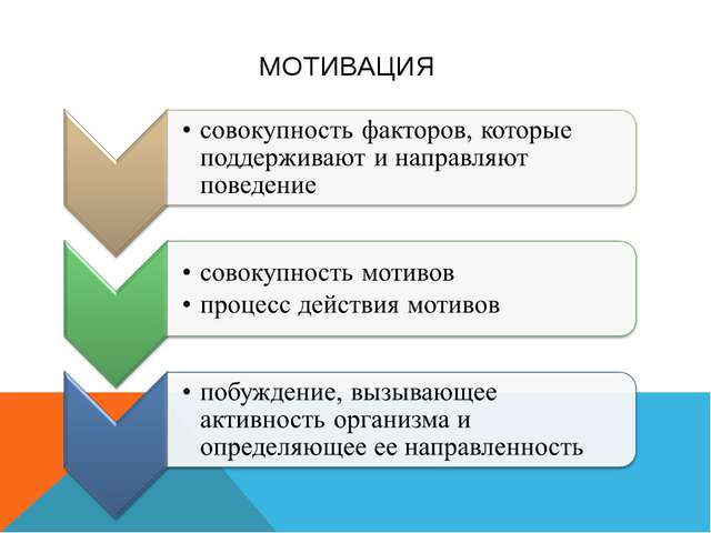 Презентация Мотивация деятельности студентов  МОТИВАЦИЯ