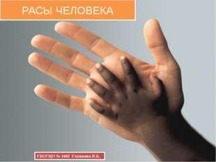 РАСЫ ЧЕЛОВЕКА ГБОУЦО № 1602 Глушкова Н.Б.