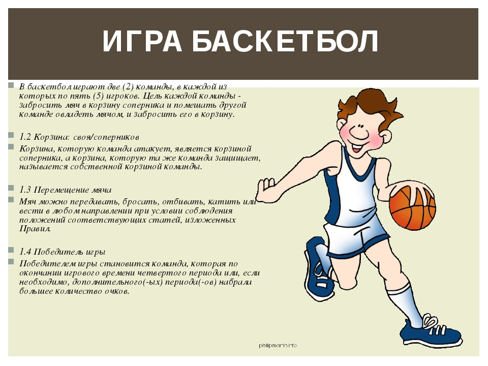 информация о баскетболе