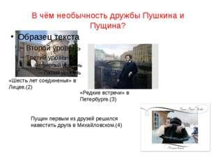 В чём необычность дружбы Пушкина и Пущина? «Шесть лет соединенья» в Лицее.(2)