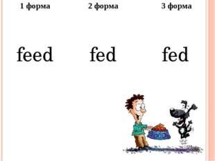 1форма 2 форма 3 форма feed fed fed