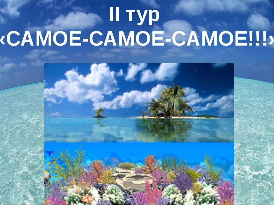 II тур «САМОЕ-САМОЕ-САМОЕ!!!»