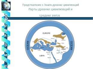 Представление о Земле древних цивилизаций Карты древних цивилизаций и средних