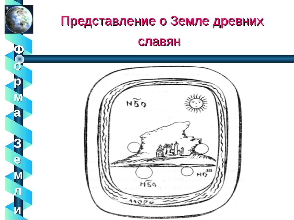 Представление о Земле древних славян