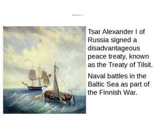 Anglo-Russian War (1807–1812) 19th century Anglo-Russian War (1807–1812) Tsa