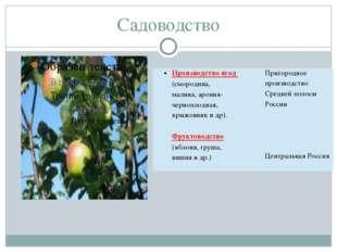 Садоводство Производство ягод (смородина, малина,арония-черноплодная, крыжовн