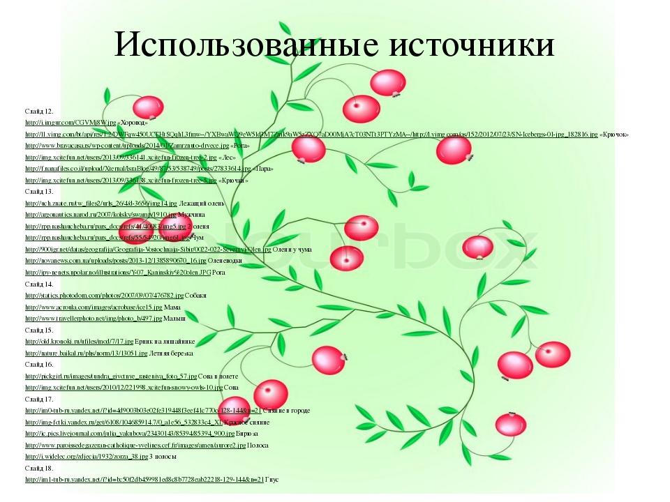 Использованные источники Слайд 12. http://i.imgur.com/CGVMj8W.jpg «Хоровод» h...