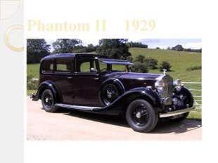 Phantom II 1929