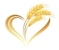 Logo Vector : Free Wheat Heart Composition .eps Vector - vectorea.com