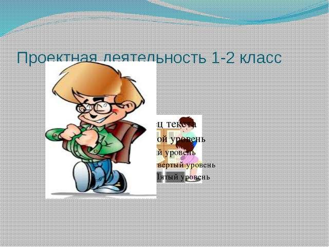 Проектная деятельность 1-2 класс