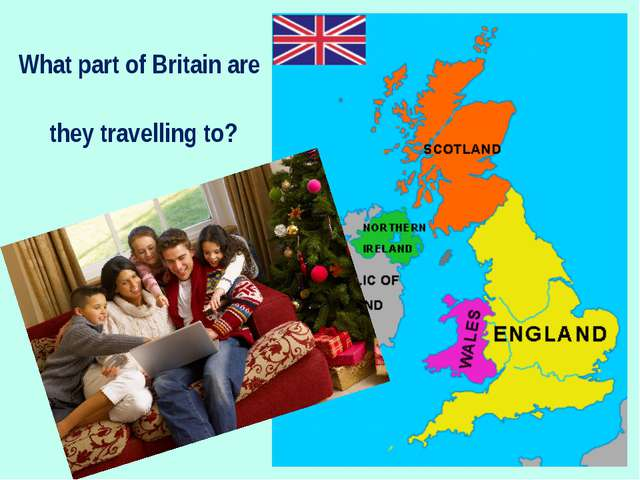 What part of Britain are they travelling to?