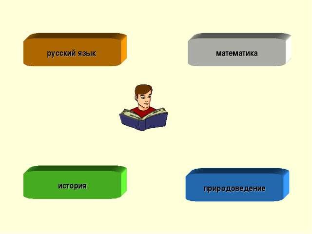 русский язык математика история природоведение