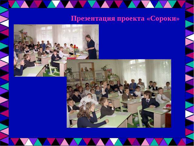 Презентация проекта «Сороки»