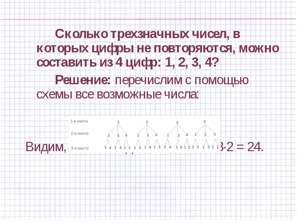 Сколько трехзначных чисел, в которых цифры не повторяются, можно составить...
