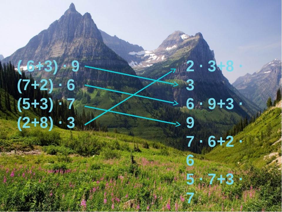 ( 6+3) · 9 (7+2) · 6 (5+3) · 7 (2+8) · 3 2 · 3+8 · 3 6 · 9+3 · 9 7 · 6+2 · 6...