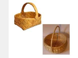 Имелось в крестьянском жилище и немало плетеной утвари- корзин, лукошек, кор