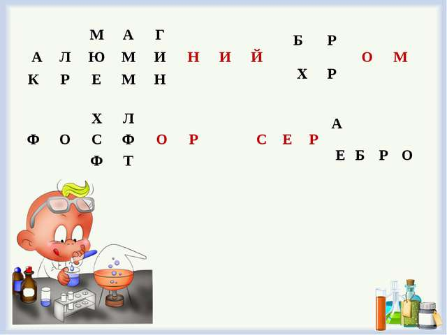 МАГНИЙ АЛЮМИ КРЕМН ХЛОР ФОСФ Ф...