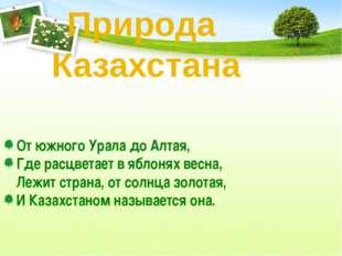 От южного Урала до Алтая, Где расцветает в яблонях весна, Лежит страна, от со