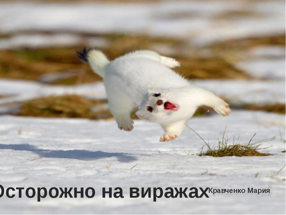 Кравченко Мария Осторожно на виражах