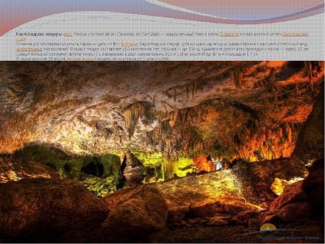 Карлсбадские пещеры(исп.Parque Nacional de las Cavernas de Carlsbad) — наци...