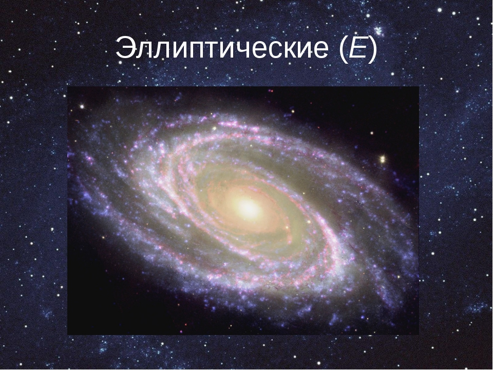 Эллиптические (E)
