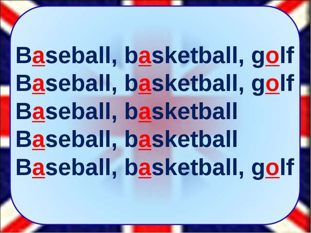 Baseball, basketball, golf Baseball, basketball, golf Baseball, basketball Ba...