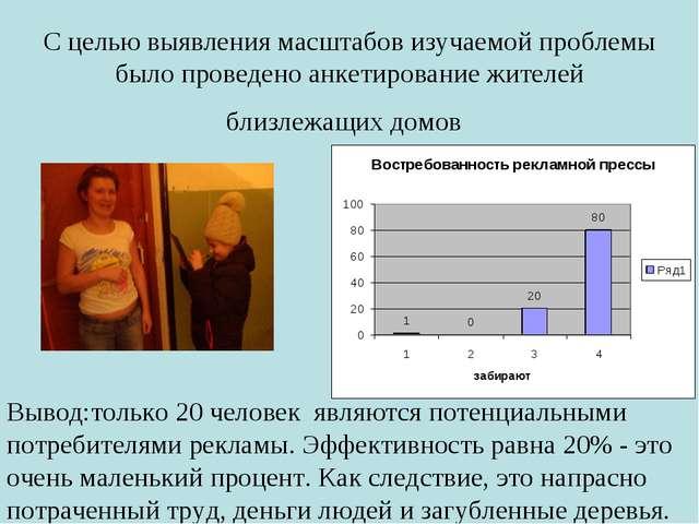 С целью выявления масштабов изучаемой проблемы было проведено анкетирование...