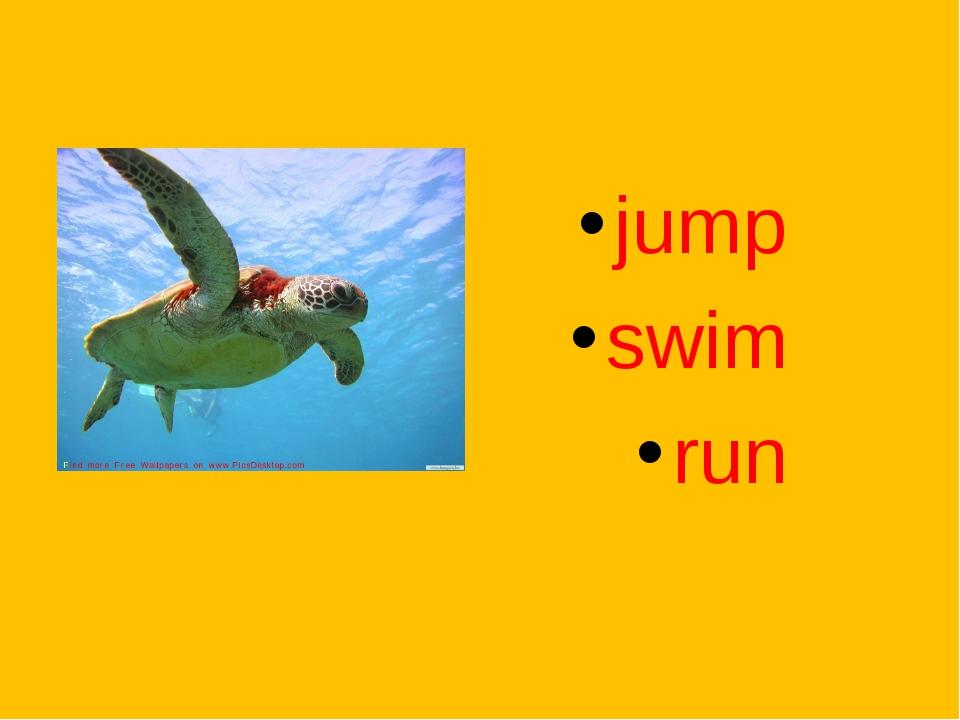 jump swim run