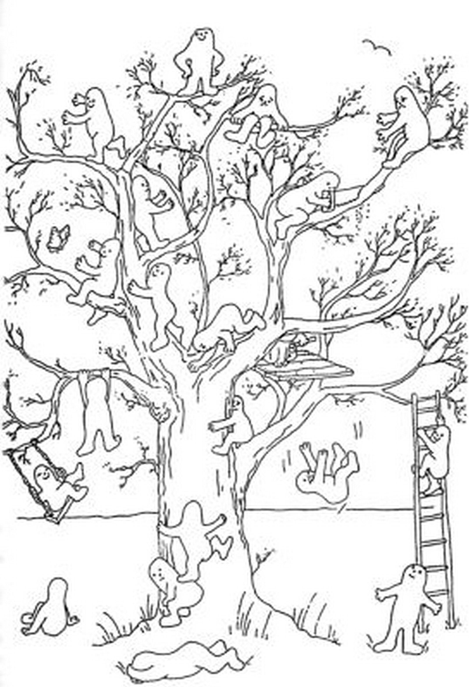 Психологические тесты рисуем дерево