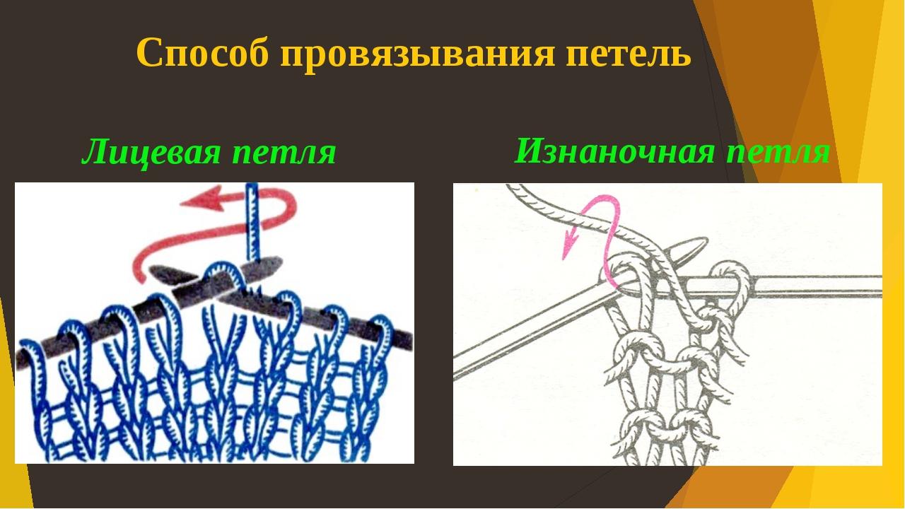 Вязание спицами классические петли 88