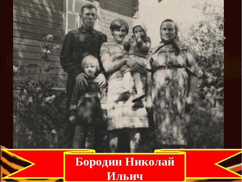 Бородин Николай Ильич