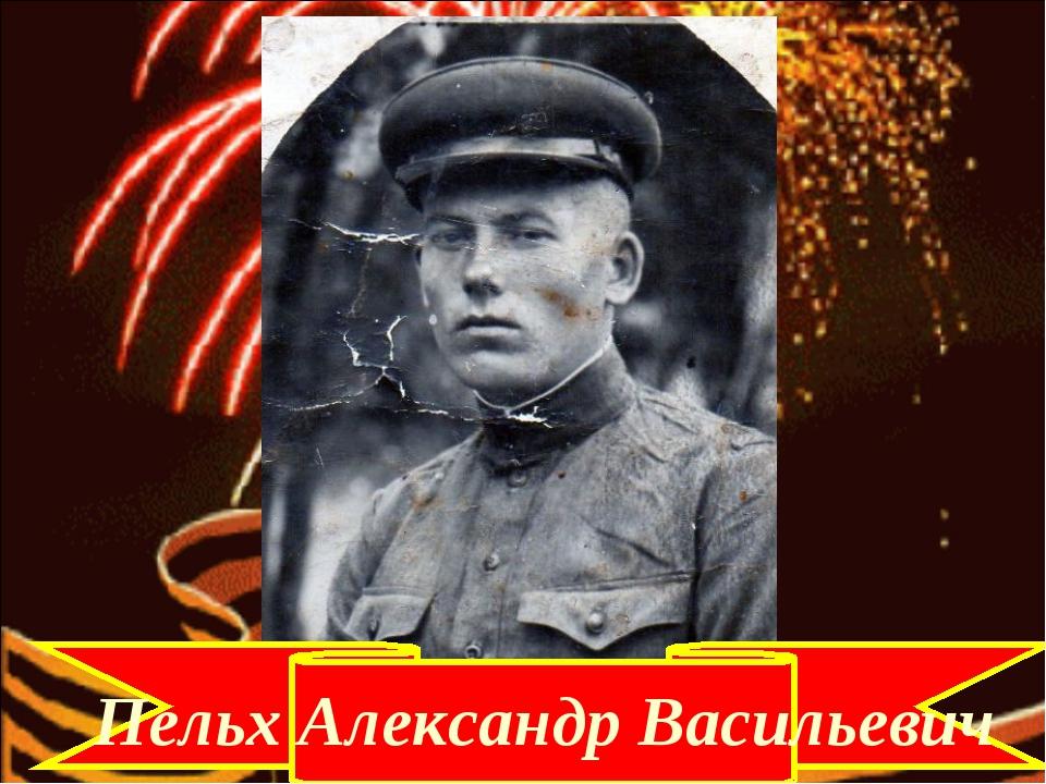 Пельх Александр Васильевич