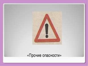 «Прочие опасности»