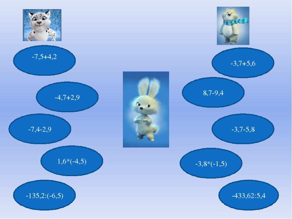 -7,5+4,2 -7,4-2,9 8,7-9,4 -4,7+2,9 -3,7+5,6 -3,7-5,8 1,6*(-4,5) -3,8*(-1,5) -...