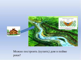 Можно построить (купить) дом в пойме реки?