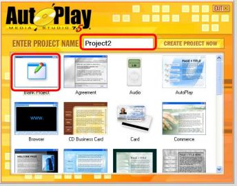 autoplay media studio - Blank Project