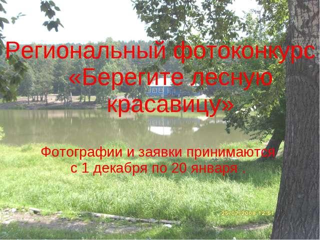 Региональный фотоконкурс «Берегите лесную красавицу» Фотографии и заявки прин...