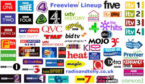 Freeview Channels