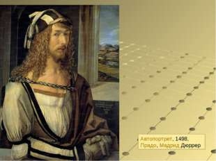 Автопортрет, 1498, Прадо, Мадрид Дюррер