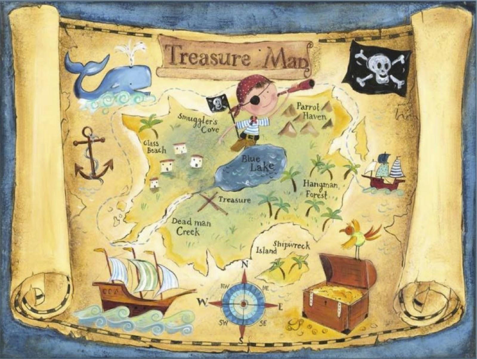 Карта сокровищ своими руками Лука Онлайн 82