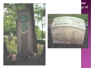 On April 21, 1910, Sam Clemens died at the age of 74. The monument to Mark Tw