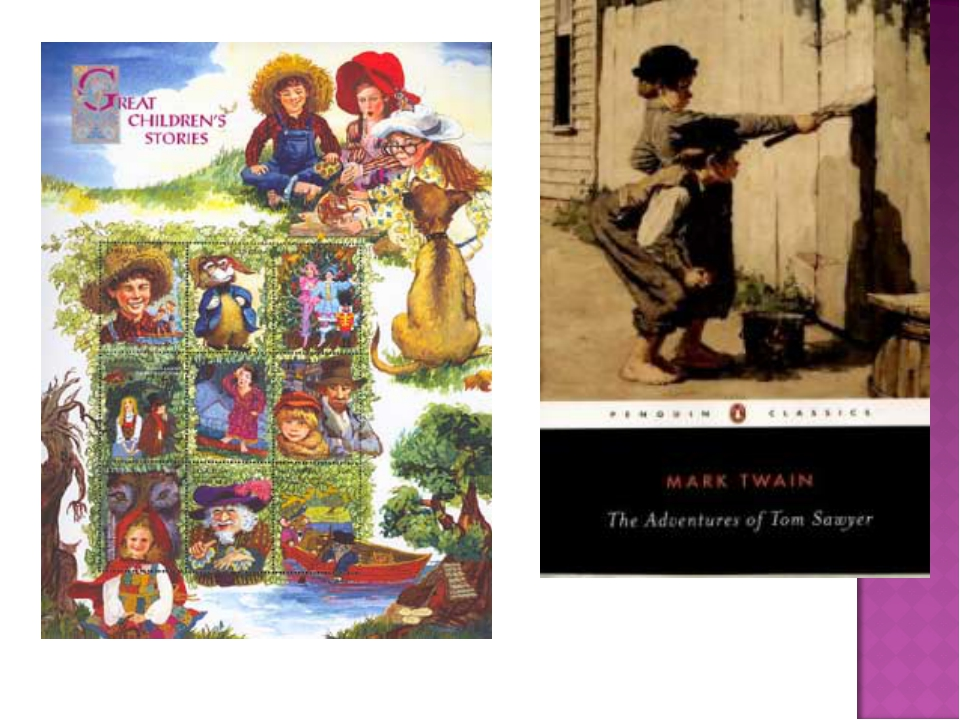 """In 1876, the writer published """"The Adventures of Tom Sawyer"""" and in 1884"""