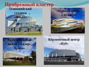 Прибрежный кластер Кёрлинговый центр «Куб» Ледовая арена « Шайба» Олимпийский