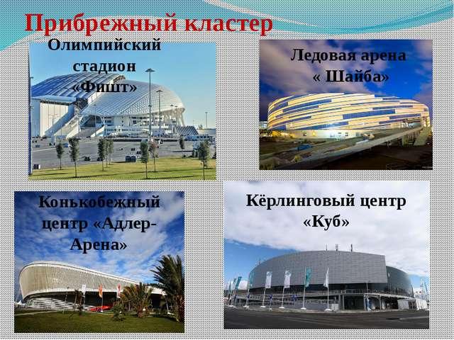 Прибрежный кластер Кёрлинговый центр «Куб» Ледовая арена « Шайба» Олимпийский...