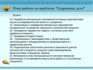 14. Разработка методических материалов в помощь организаторам научно-исследов