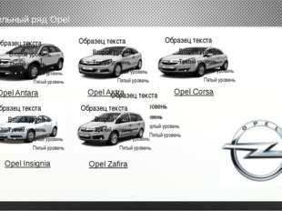 модельный ряд Opel Opel Astra Opel Corsa Opel Zafira Opel Antara Opel Insignia